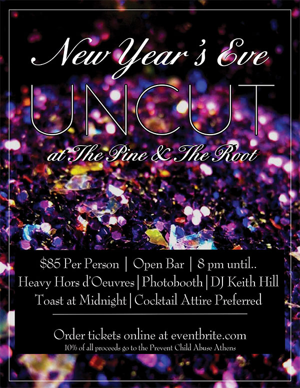 Purchase News Year Eve Uncut Tickets at Eventbrite!